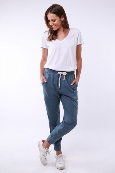 Wash Out Lounge Pant Steel Blue