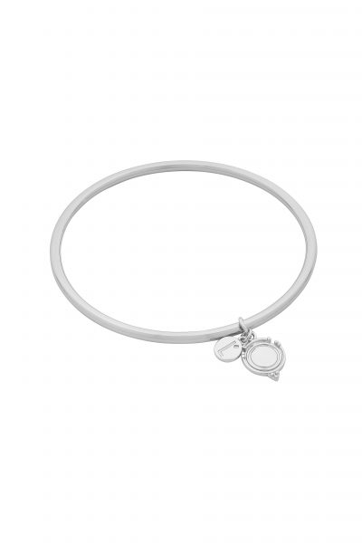 Teagan Bangle Silver