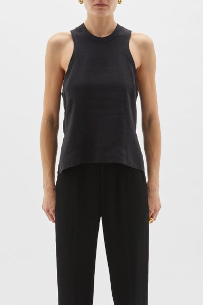 Bassike Athletic Linen Tank